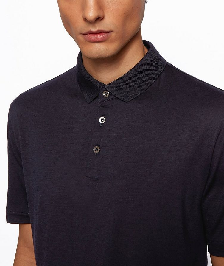 Traceable Wool Polo image 1