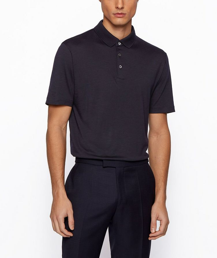 Traceable Wool Polo image 2