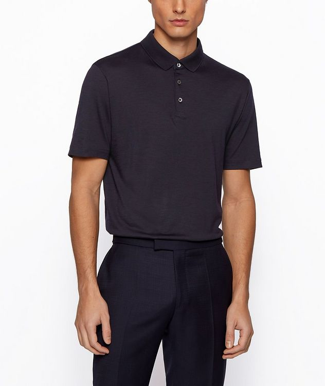 Traceable Wool Polo picture 3