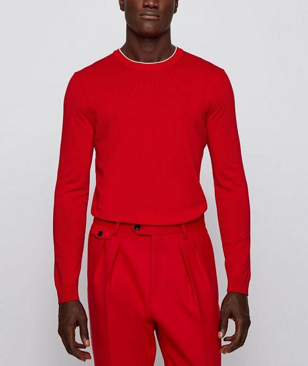 Fabello Slim Fit Cotton Sweater picture 2