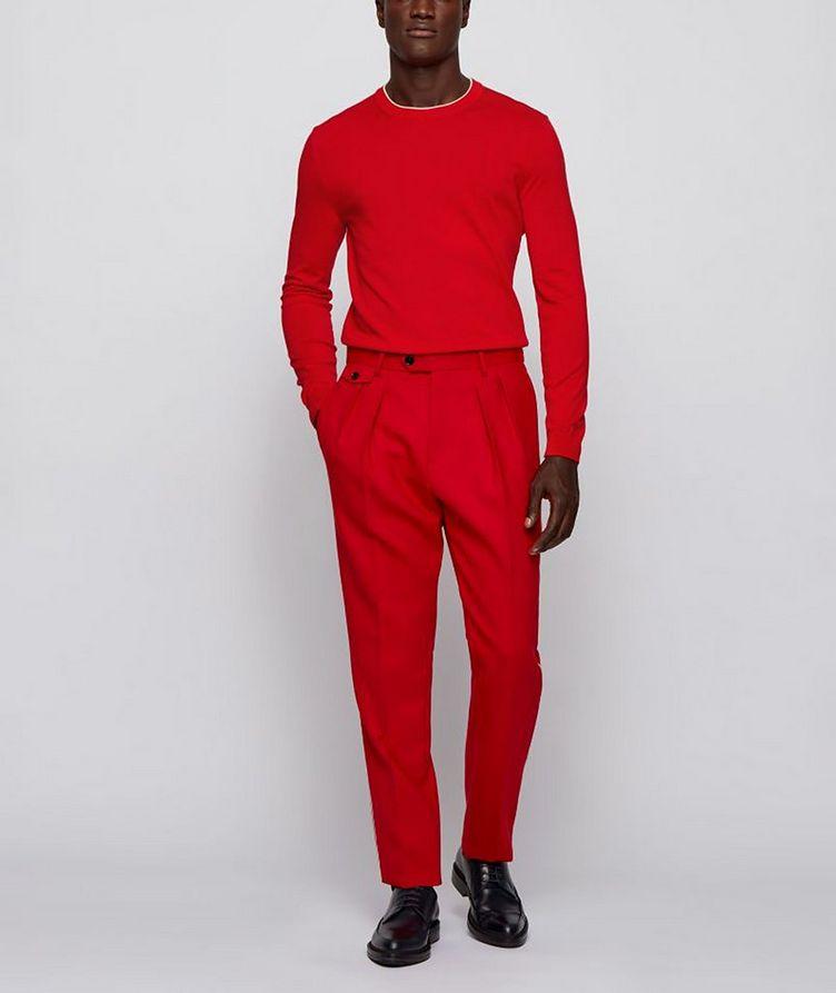 Fabello Slim Fit Cotton Sweater image 3