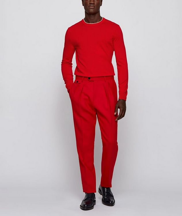 Fabello Slim Fit Cotton Sweater picture 4
