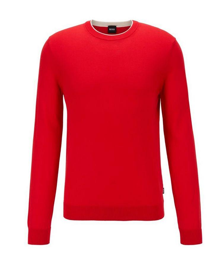 Fabello Slim Fit Cotton Sweater image 0
