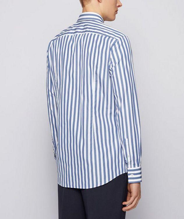Jango Slim-Fit Striped Poplin Dress Shirt picture 3