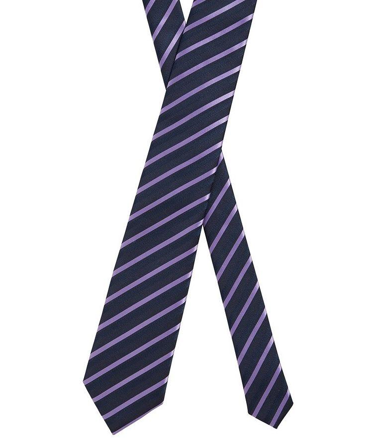 Striped Silk Tie image 1