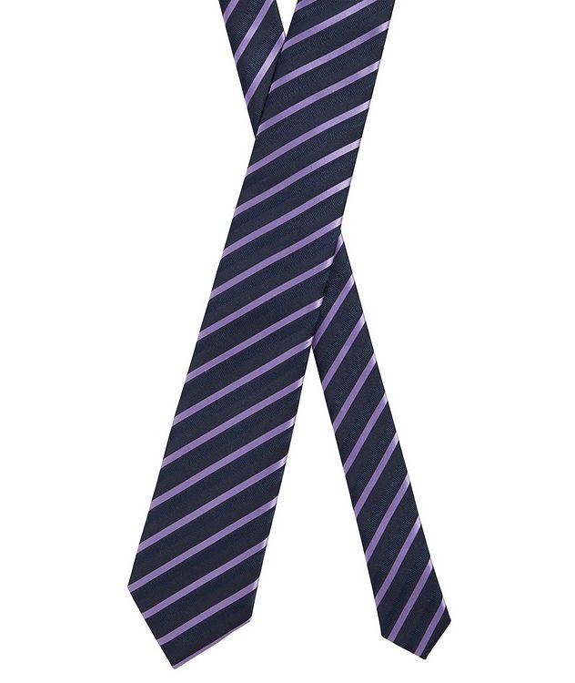 Striped Silk Tie picture 2