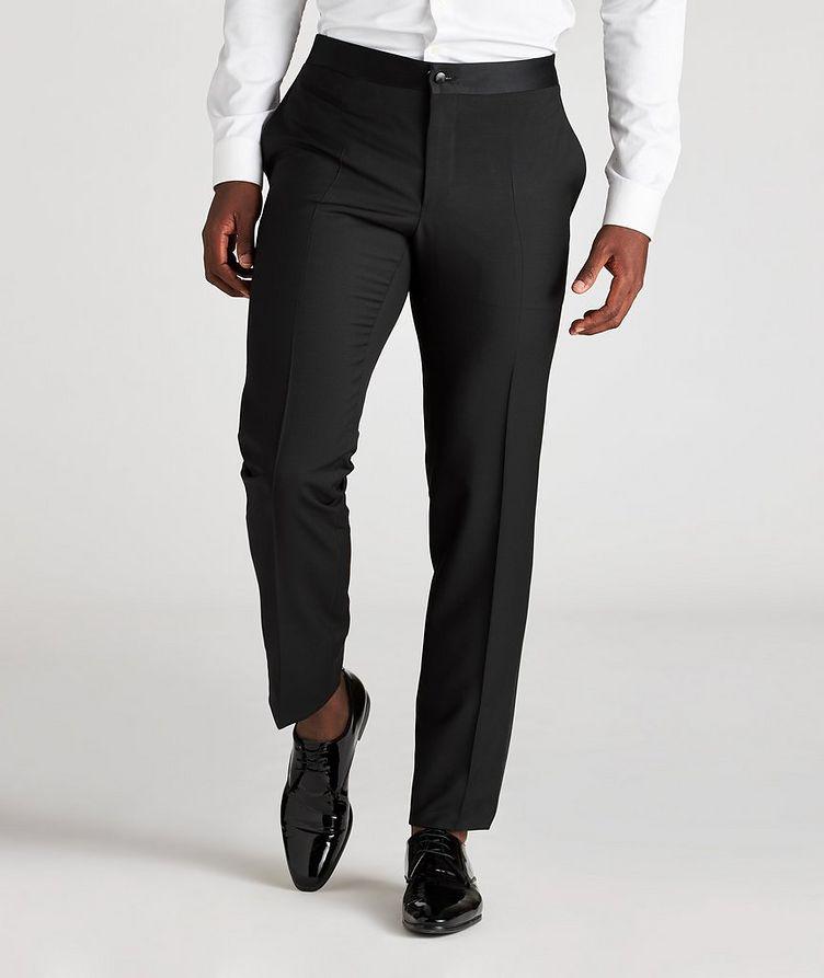 Wool-Mohair Tuxedo Pants image 1