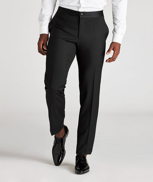 Wool-Mohair Tuxedo Pants picture 2