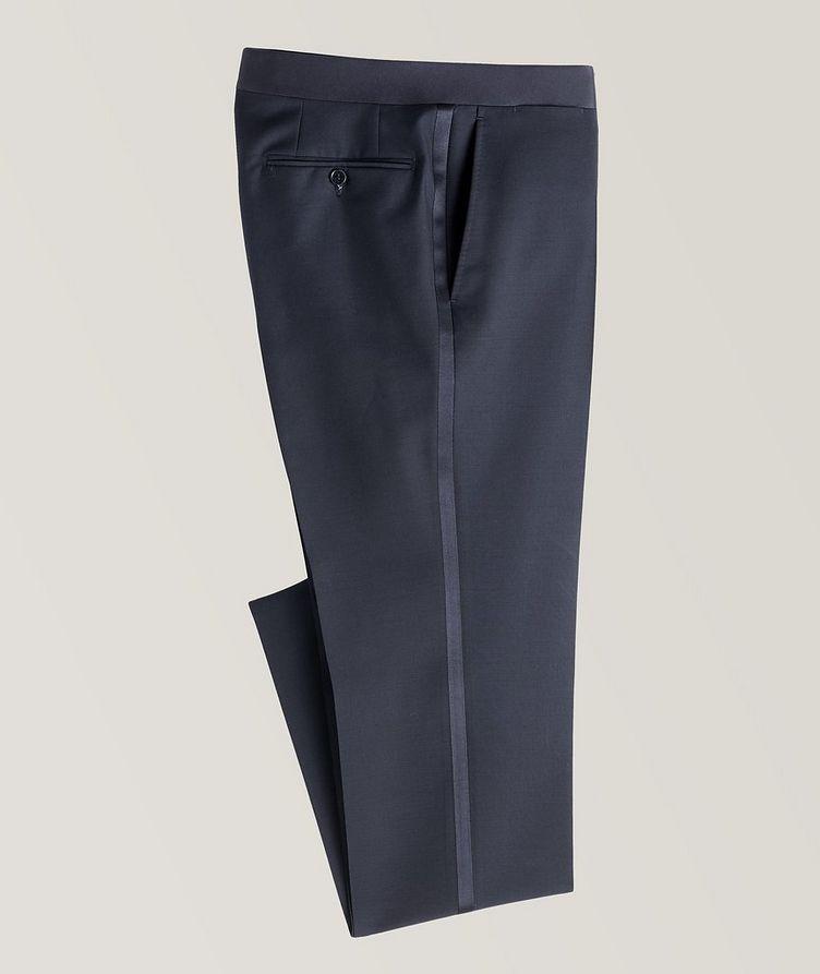 Wool-Mohair Tuxedo Pants image 0