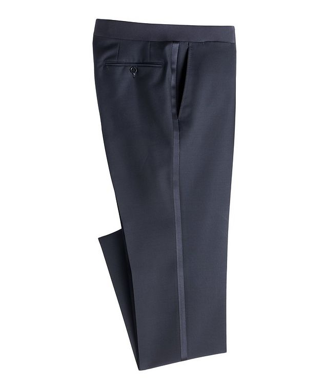 Wool-Mohair Tuxedo Pants picture 1