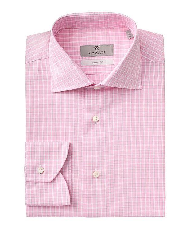 Contemporary-Fit Impeccabile Cotton Dress Shirt picture 1