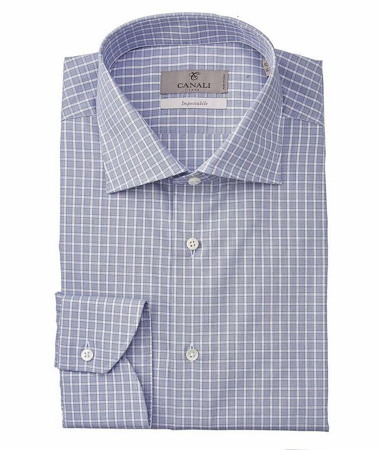Slim-Fit Impeccabile Cotton Dress Shirt image 0
