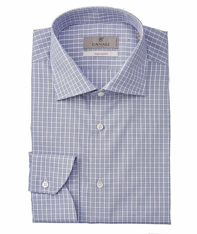 Slim-Fit Impeccabile Cotton Dress Shirt picture 1