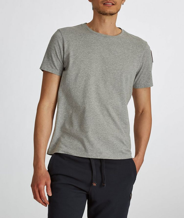 Track Printed Cotton T-Shirt image 3