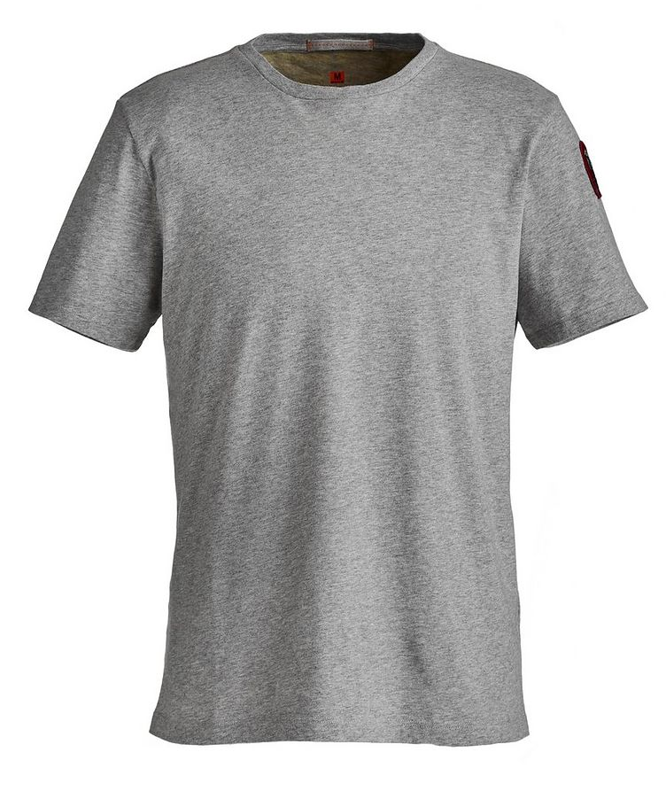 Track Printed Cotton T-Shirt image 0