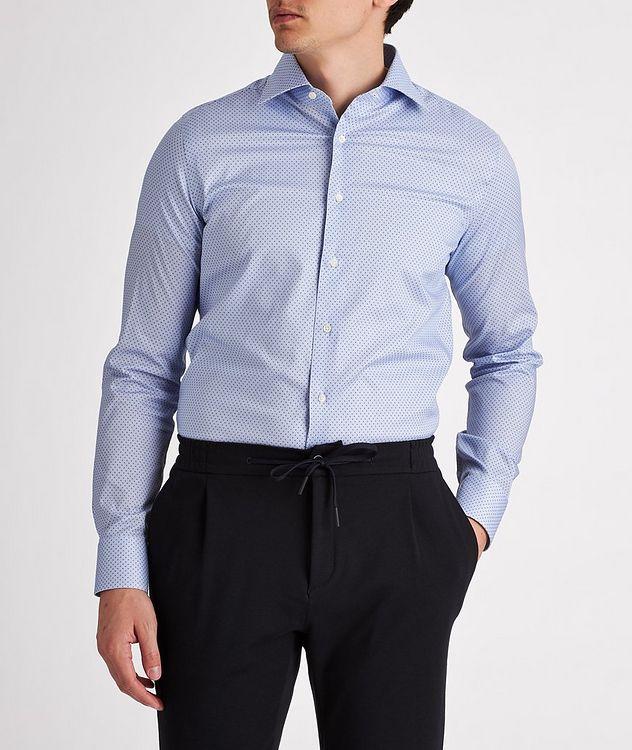Slim-Fit Impeccabile Cotton-Lyocell Dress Shirt picture 2