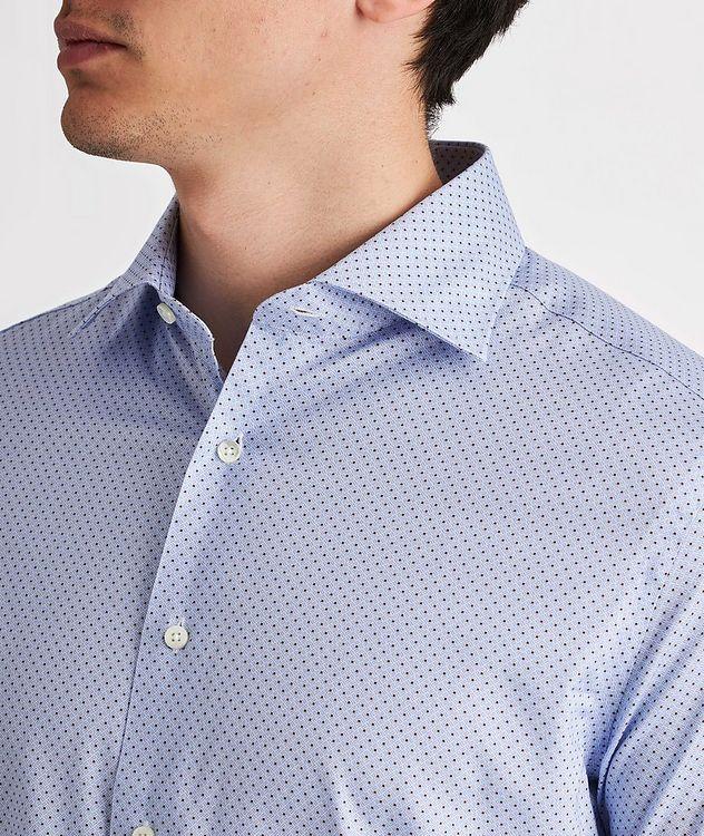 Slim-Fit Impeccabile Cotton-Lyocell Dress Shirt picture 4