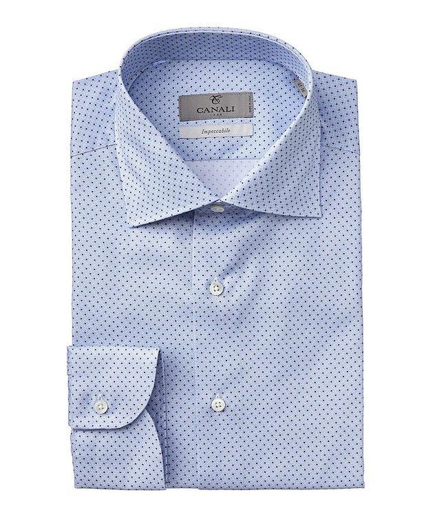 Slim-Fit Impeccabile Cotton-Lyocell Dress Shirt picture 1