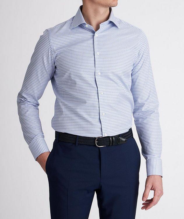 Slim-Fit Woven Cotton Dress Shirt picture 2