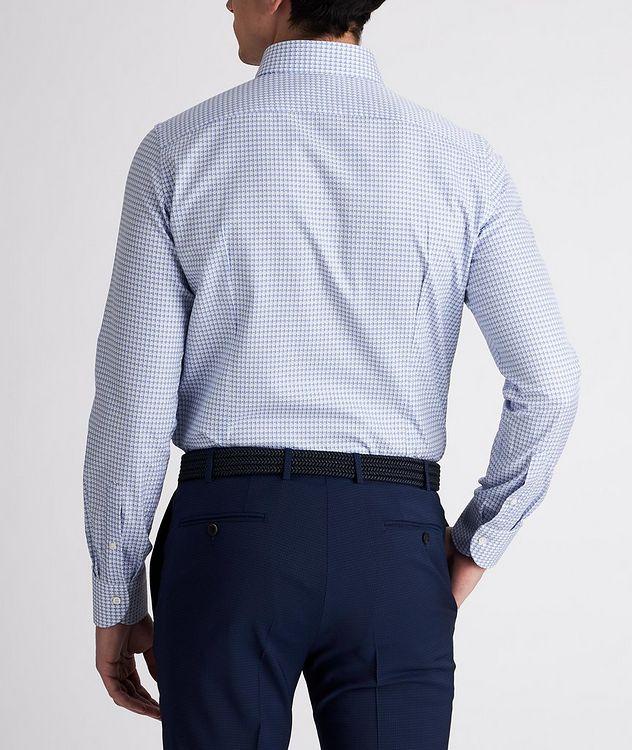Slim-Fit Woven Cotton Dress Shirt picture 3