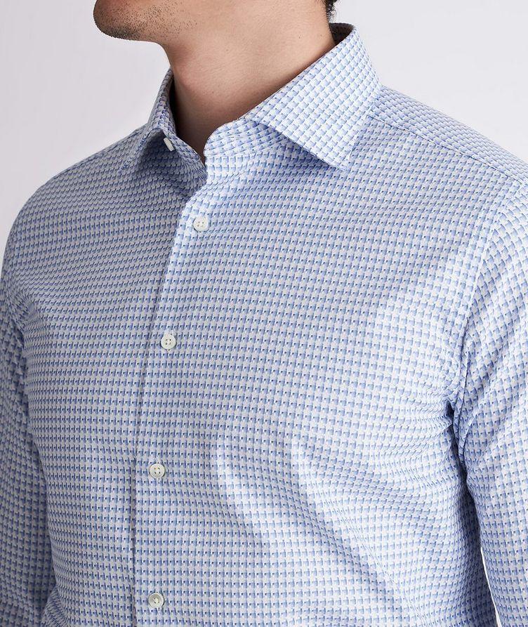 Slim-Fit Woven Cotton Dress Shirt image 3