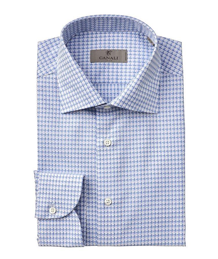 Slim-Fit Woven Cotton Dress Shirt image 0