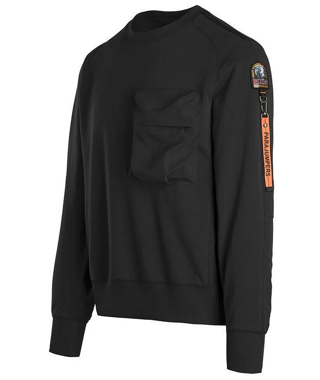 Sabre Stretch-Cotton Sweatshirt picture 2