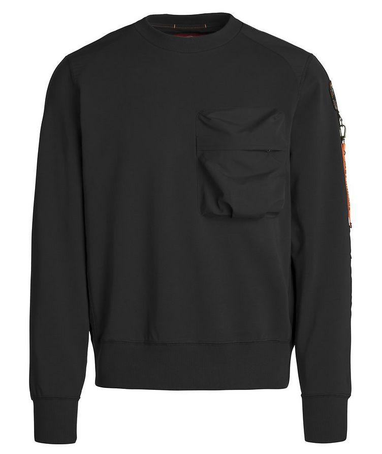 Sabre Stretch-Cotton Sweatshirt image 0