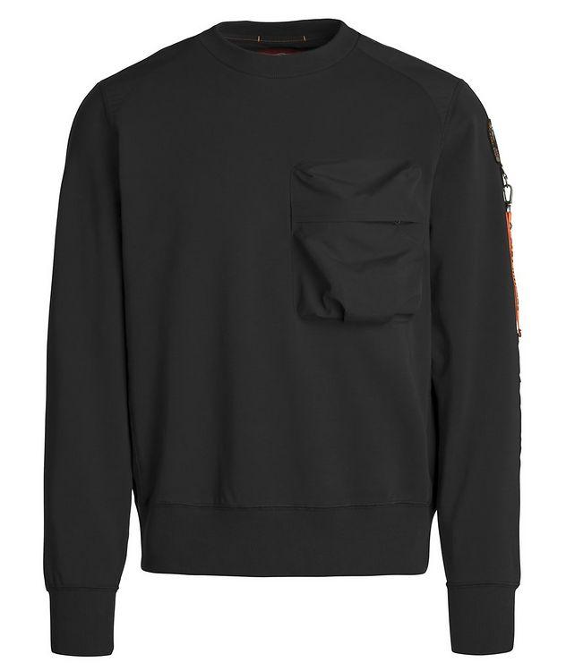 Sabre Stretch-Cotton Sweatshirt picture 1