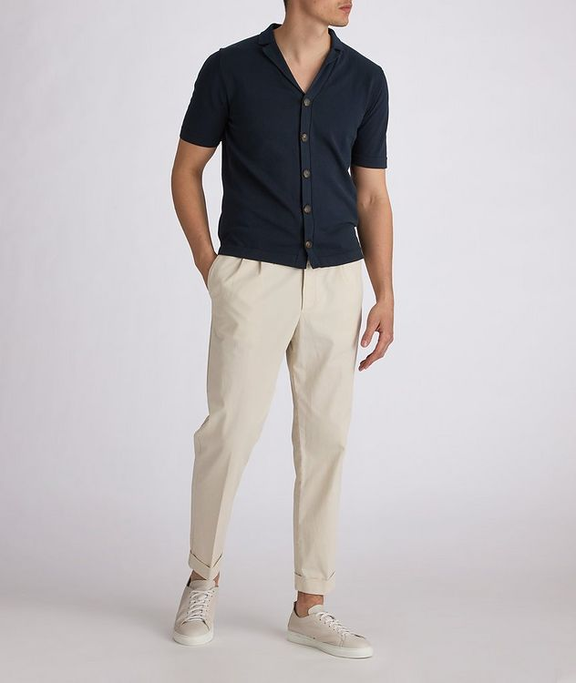 Short Sleeve Cotton Cardigan picture 4