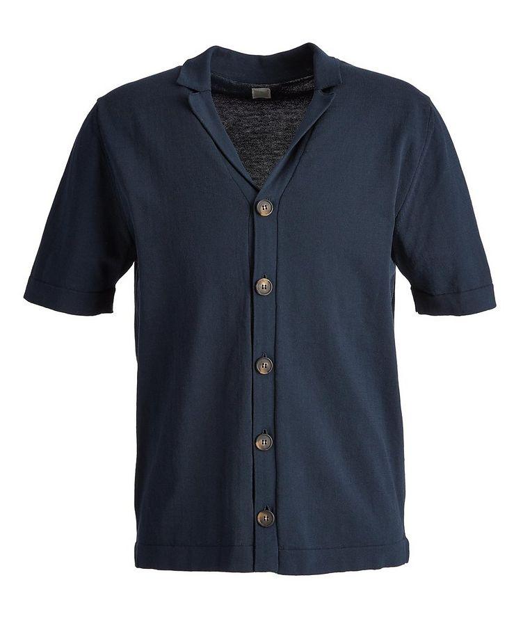 Short Sleeve Cotton Cardigan image 0