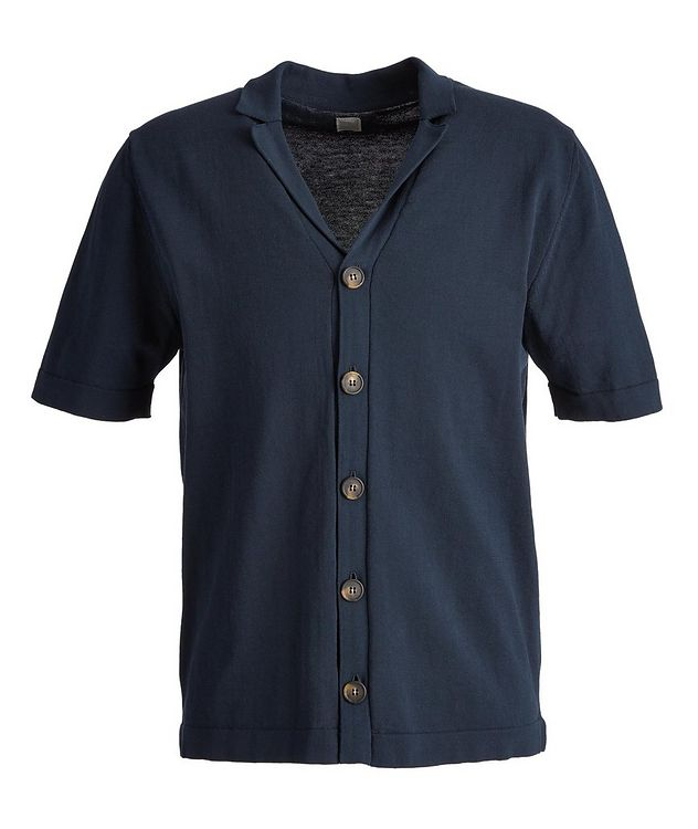 Short Sleeve Cotton Cardigan picture 1