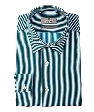 Canali BLACK EDITION Slim-Fit Striped Stretch Shirt