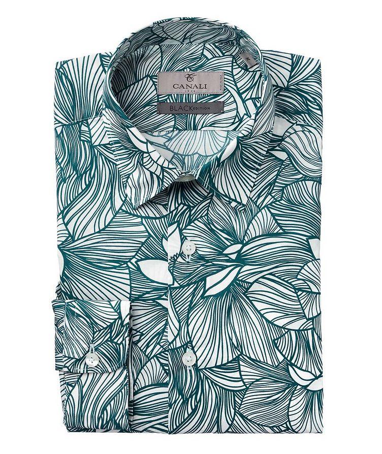 Slim Fit Floral Printed Shirt image 0