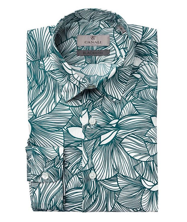 Slim Fit Floral Printed Shirt picture 1