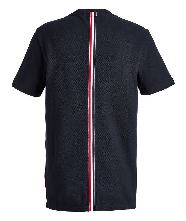 Piqué Cotton T-Shirt image 1