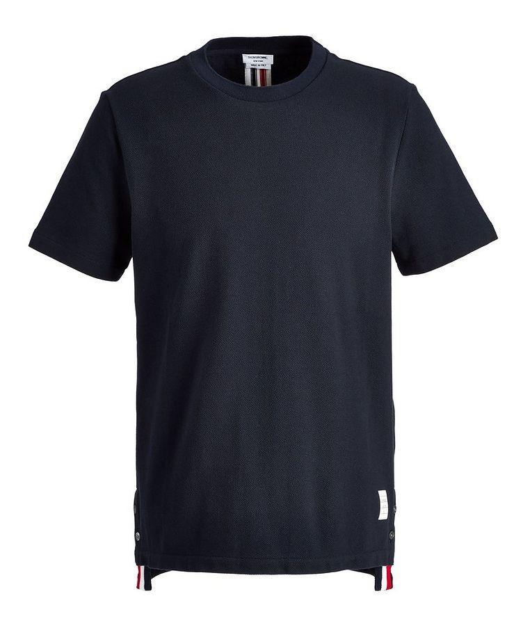 Piqué Cotton T-Shirt image 0