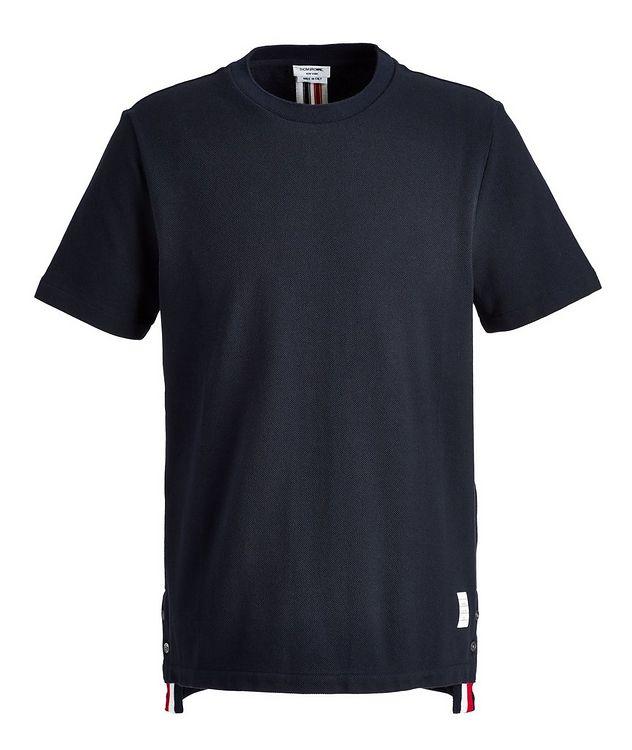 Piqué Cotton T-Shirt picture 1
