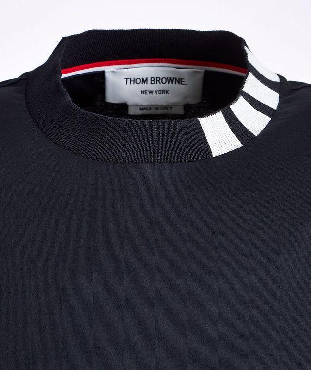 Intarsia Cotton T-Shirt picture 2