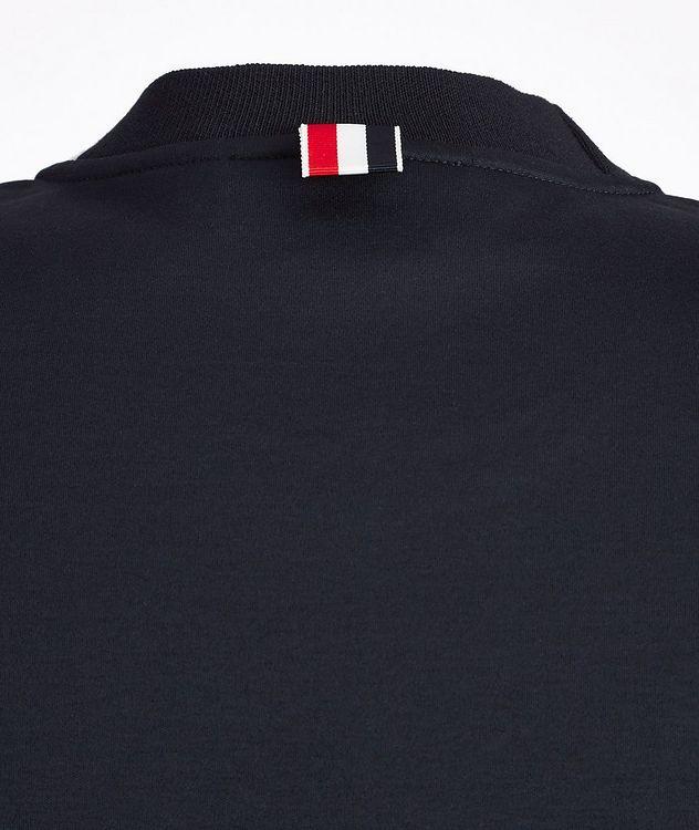 Intarsia Cotton T-Shirt picture 4