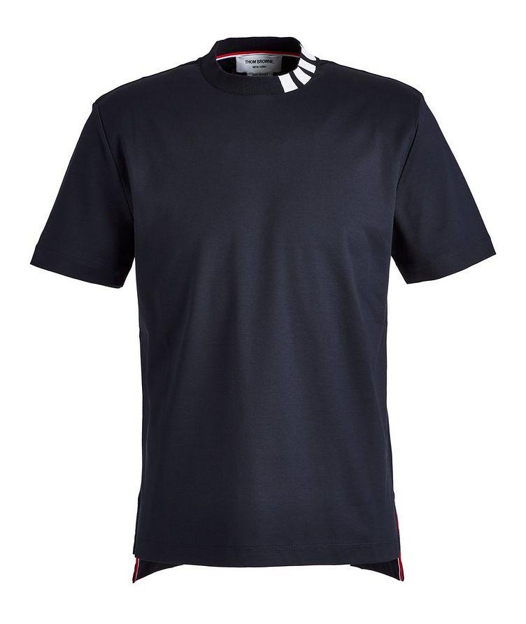 Intarsia Cotton T-Shirt image 0