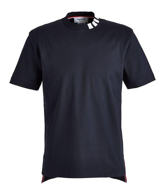 Intarsia Cotton T-Shirt picture 1