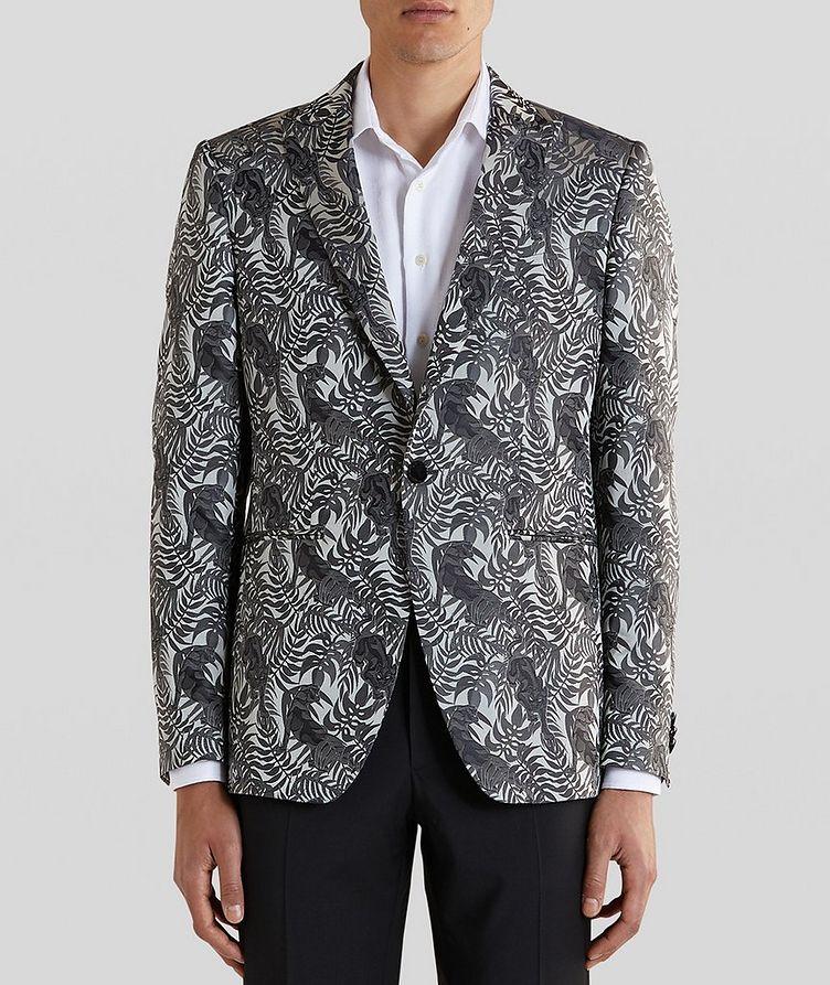 Jungle Jacquard Tuxedo Jacket image 1