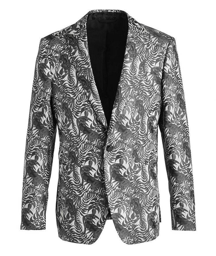 Jungle Jacquard Tuxedo Jacket image 0