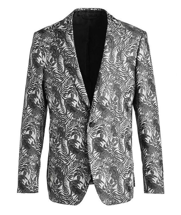 Jungle Jacquard Tuxedo Jacket picture 1