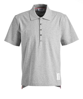 Thom Browne Cotton Jersey Polo