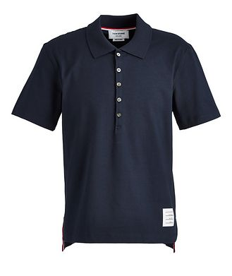 Thom Browne Jersey Cotton Polo