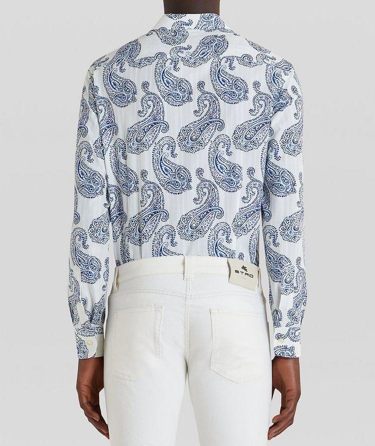 Contemporary-Fit Paisley Cotton Shirt image 3