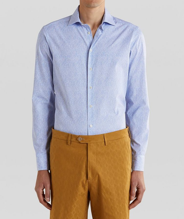 Tonal Paisley Cotton Shirt image 0