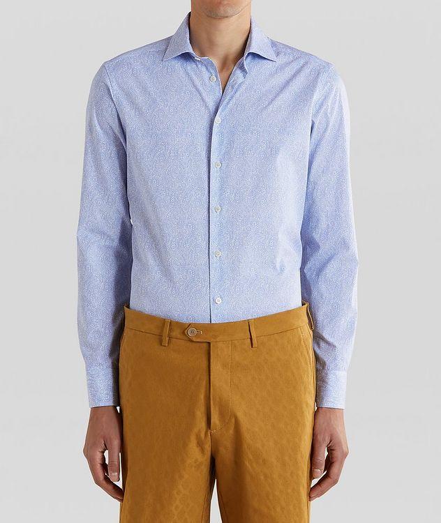 Tonal Paisley Cotton Shirt picture 1